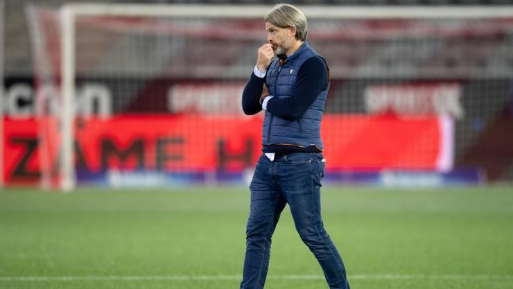 FCA-Trainer Stephan Keller darf mit der Leistung seiner Mannschaft trotz Niederlage zufrieden sein.
