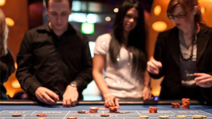 Das Badener Casino büsste im vergangenen Jahr an Umsatz ein und wurde von Zürich überholt, gehört aber noch immer zu den grössten Spielbanken des Landes.  KEY
