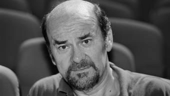 Erwin C. Dietrich, Filmregisseur sowie Bauherr und Betreiber der Cinemax Kinos in Zürich am 4. August 1993. (Archiv)