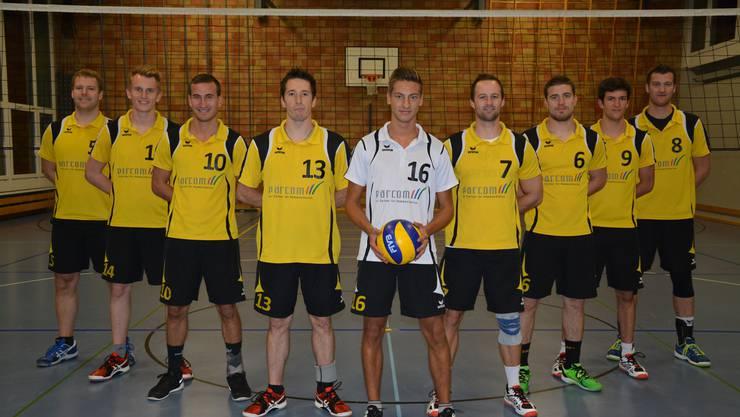 Jung, aber nicht zu unterschätzen: Die 2. Liga-Herrenmannschaft des SV Volley Wyna wird am Samstag, 31. Oktober um 13 Uhr gegen den STV Baden spielen.