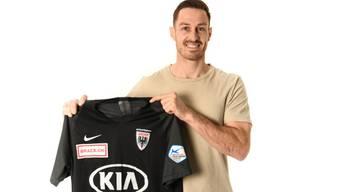 François Affolter ergänzt ab sofort das Kader des FC Aarau