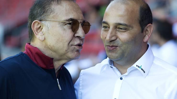Mauzif Günal (links) hat seinen Cheftrainer Fuat Capa per sofort entlassen