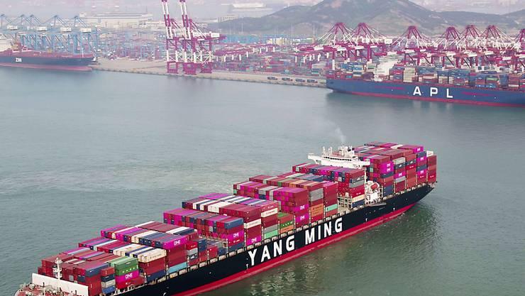 Anhebung von US-Sonderzöllen gegen China: Ab Freitag wurden die Zölle auf chinesische Güter im Wert von 200 Milliarden Dollar von 10 auf 25 Prozent erhöht. (Symbolbild)
