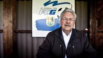 Präsident Roland Gnägi und seine Vorstandskollegen beschlossen Gossaus freiwilligen Abstieg
