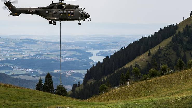 Allein die Kühe in den Waadtländer Alpen mussten während des Höhepunktes der Trockenperiode mit mehr als 3,8 Millionen Liter Wasser versorgt werden.