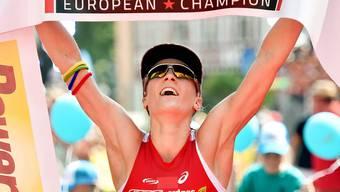 Daniela Ryf triumphiert auch in Frankfurt am Main