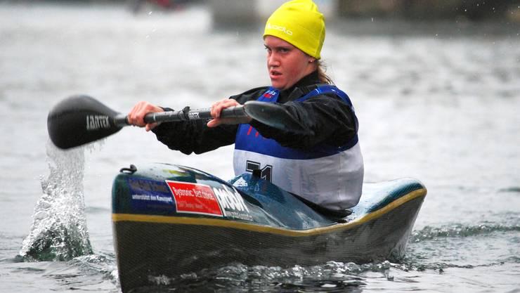 Melanie Mathys wurde für die Regatta-WM der Kanuten in Moskau selektioniert