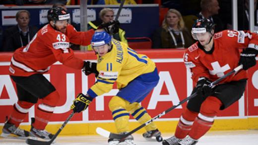 Schweiz holt ersten Sieg an Eishockey-WM