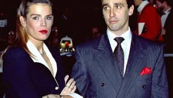 Ein glückliches Paar sieht anders aus: Prinzessin Stéphanie und Daniel Ducruet vor 15 Jahren (Archiv)