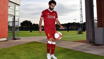Mohamed Salah trägt bei Liverpool künftig die Nummer 11. Sein Transfer beschert auch dem FCB einen kleinen Geldsegen.Andrew Powell/Getty Images