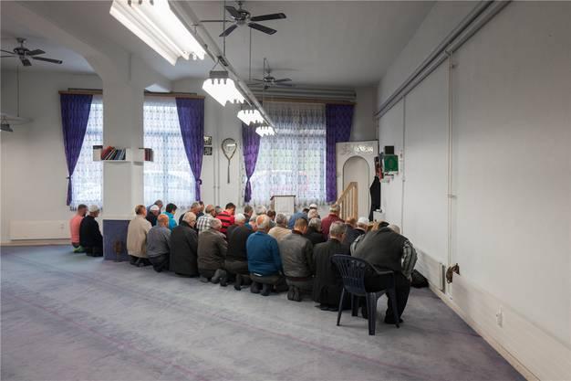 Ein Relikt: Noch beten die Wiler Muslime in dieser Hinterhofmoschee.