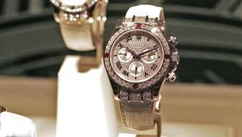 Auch gebrauchte Rolex-Uhren will Bucherer verkaufen.