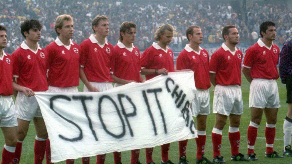 Alain Sutter war an der WM 1994 trotz Handicap herausragend