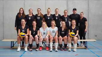 Das Damenteam des TV Grenchen  gewinnen das letzte Spiel der Hinrunde.