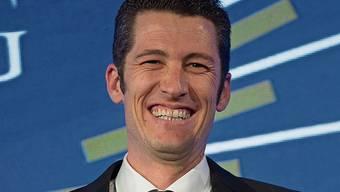 Strahlendes Siegerlächeln: Bruno Weibel.