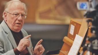Rudolf Kelterborn hat das Schweizer Musikleben auch als Pädagoge stark geprägt.