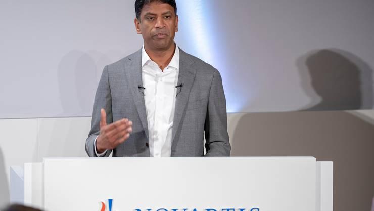 Konzernchef Vasant Narasimhan kann auch im Pandemiejahr 2020 solide Zahlen präsentieren. (Symbolbild)