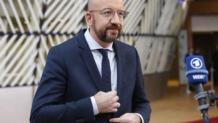 Kurz vor Beginn des Sondergipfels am Donnerstag in Brüssel hat EU-Ratspräsident Charles Michel an die 27 EU-Staats- und Regierungschefs appelliert, sich beim EU-Haushaltsplan zu einigen.