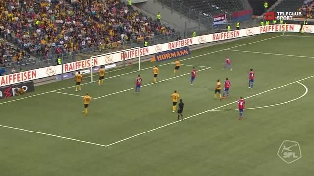 Super League, 2018/19, 7. Runde YB - FC Basel 5:1 Ricky van Wolfswinkel