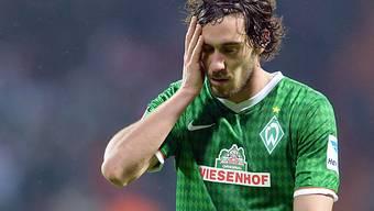 Nur ein Punkt für Bremen (im Bild Garcia) gegen Braunschweig