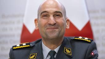 Thomas Süssli am Mittwoch an der Medienkonferenz nach der Ernennung zum neuen Armeechef.