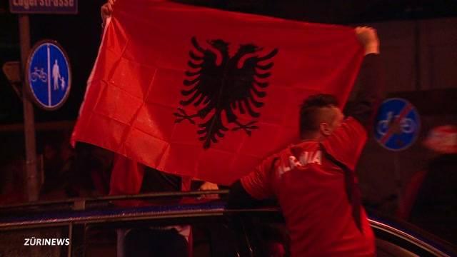 Lärmklagen wegen Albaner-Fans