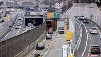 2. Version: Neue Verkehrsführung am Schänzlitunnel