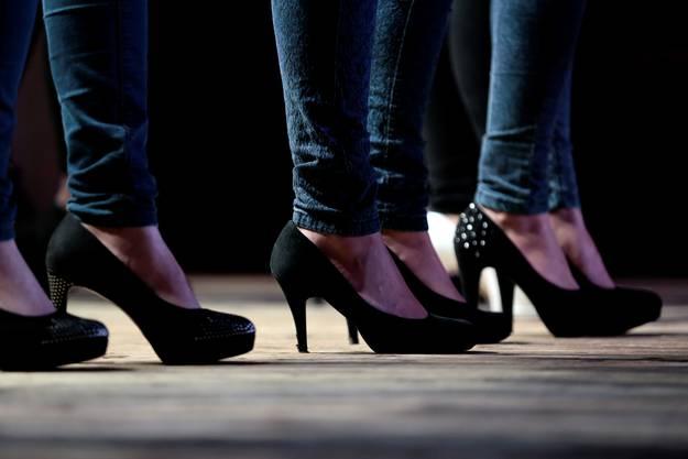 High heels sind ein Muss