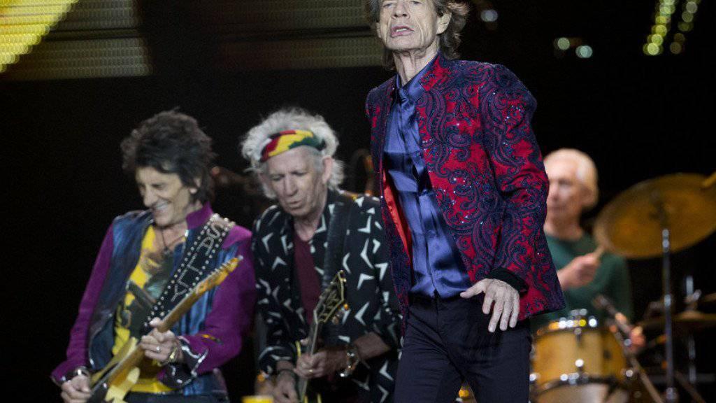 Mick Jagger findet, zu Donald Trumps Vorschlag, an der Grenze zu Mexiko eine Mauer zu bauen, würde «The Wall» von Pink Floyd gut passen (Archiv).