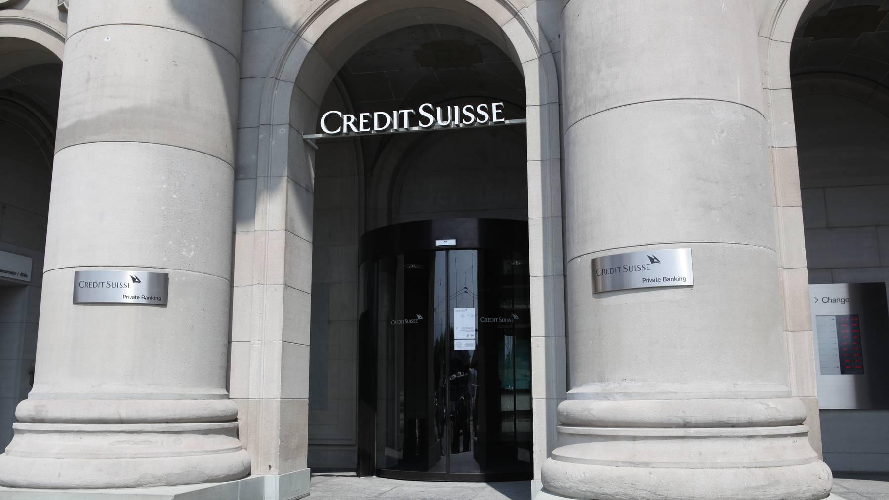 Credit Suisse macht 700 Mio. Franken Verlust