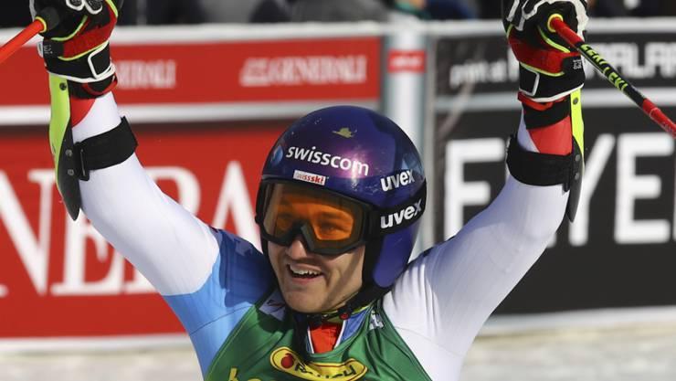 Der Ostschweizer Cédric Noger ist Schweizer Meister im Riesenslalom