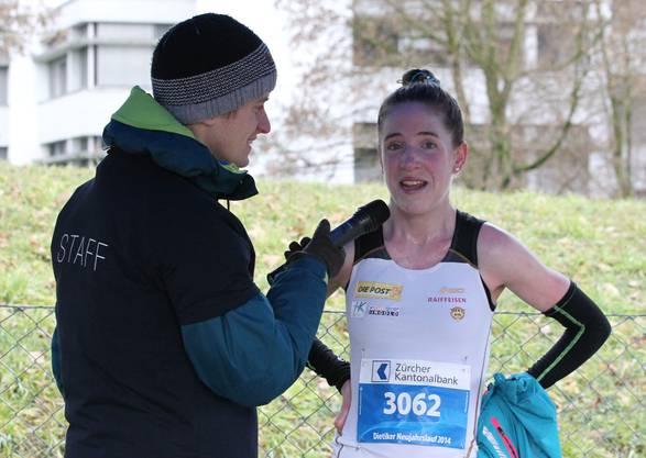Streckenrekord geknackt: Martina Strähl knackte den Streckenrekord.