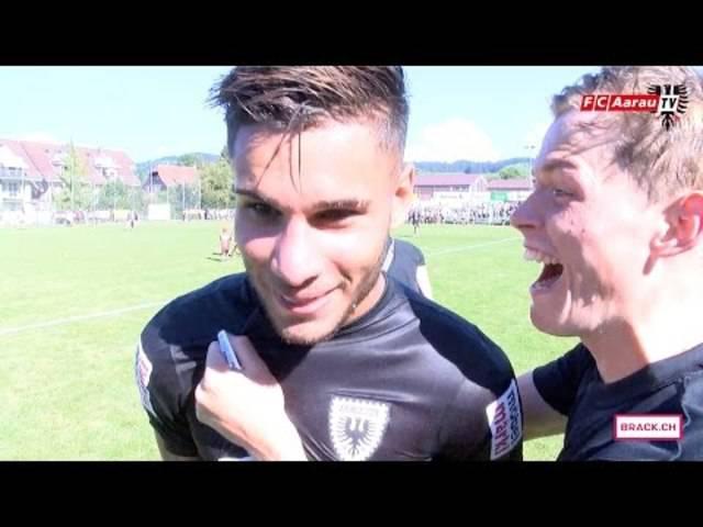 FC Zollbrück - FC Aarau 0:5 – 1. Runde im Helvetia Schweizer Cup
