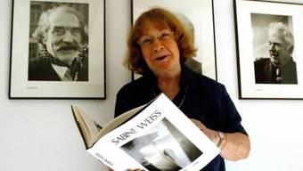 Wird in Zürich für ihr Lebenswerk ausgezeichnet: die Westschweizer Fotografin Sabine Weiss. (Archivbild 2002)