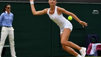 Leonie Küng verpasste im Wimbledon-Final der Frauen den ganz grossen Wurf