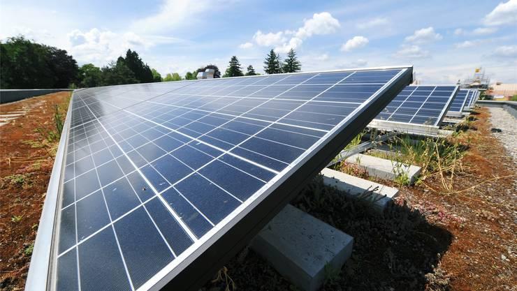 Die Ökostrombörse soll Anreiz für neue Photovoltaikanlagen sein.zvg