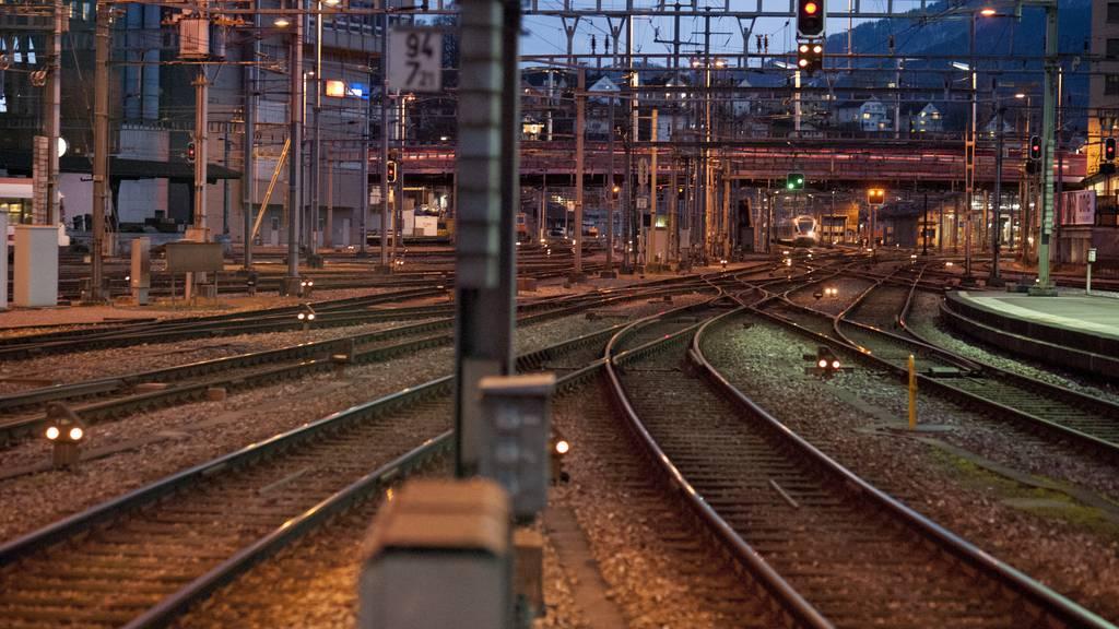Im November kommt es im Bahnhof Luzern zu einer Totalsperrung