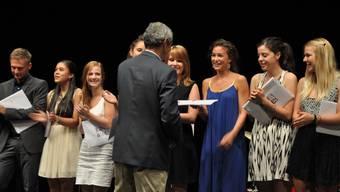 Maturafeier Kanti Baden: Ein Abschluss und Aufbruch zugleich