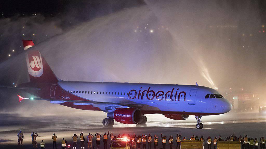 Für einen Teil der Air Berlin-Angestellten gibt es Hoffnung (Archiv)