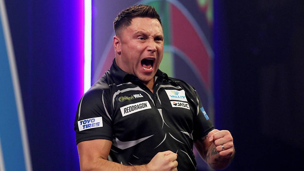 «The Iceman» Gerwyn Price ist Darts-Weltmeister