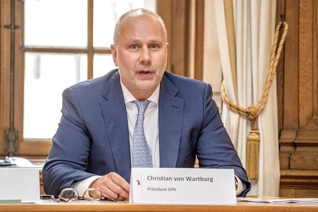 Christian von Wartburg, Präsident GPK,