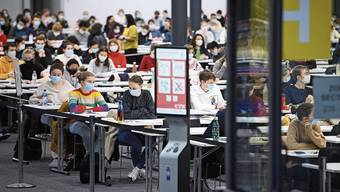 An der ETH in Lausanne haben gestern Studentinnen und Studenten noch eine Prüfung geschrieben.