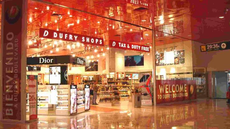 Duty-free-Shop von Dufry