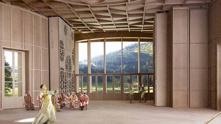 Nach dem Ja der Stimmberechtigten bekommt das Toggenburg nun ein Klanghaus. Am Schwendisee soll ein Holzbau mit einer speziellen Akustik entstehen.