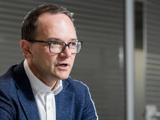 Jürg Rötheli, der CEO der Firma ORS.