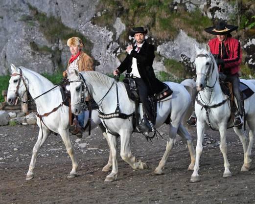 Im Stück haben viele Pferde einen Auftritt