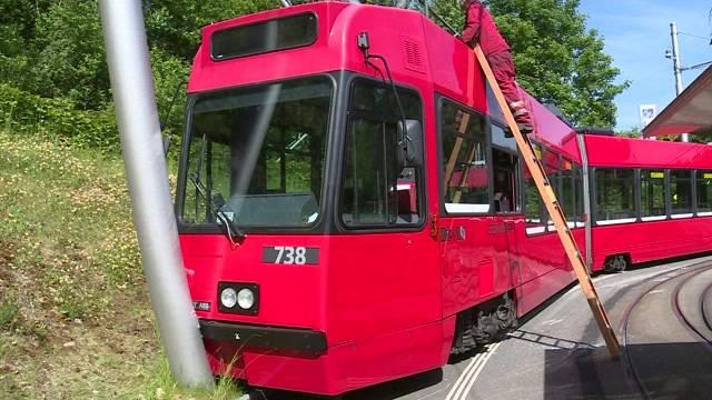Tram in Bümpliz entgleist