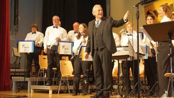 Pepe Lienhard hatte sichtlich Spass an seinem Auftritt im Wynental.