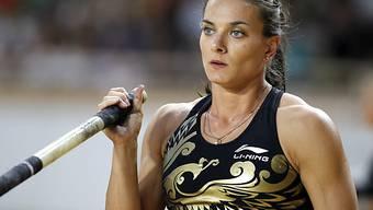 Jelena Isinbajewa lässt nach der WM ihre Stäbe im Keller