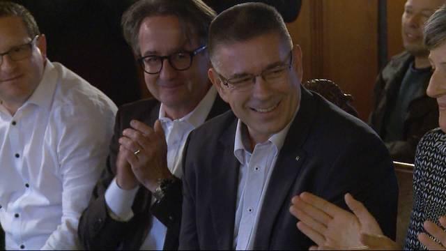 Markus Schneider ist Badener Stadtammann